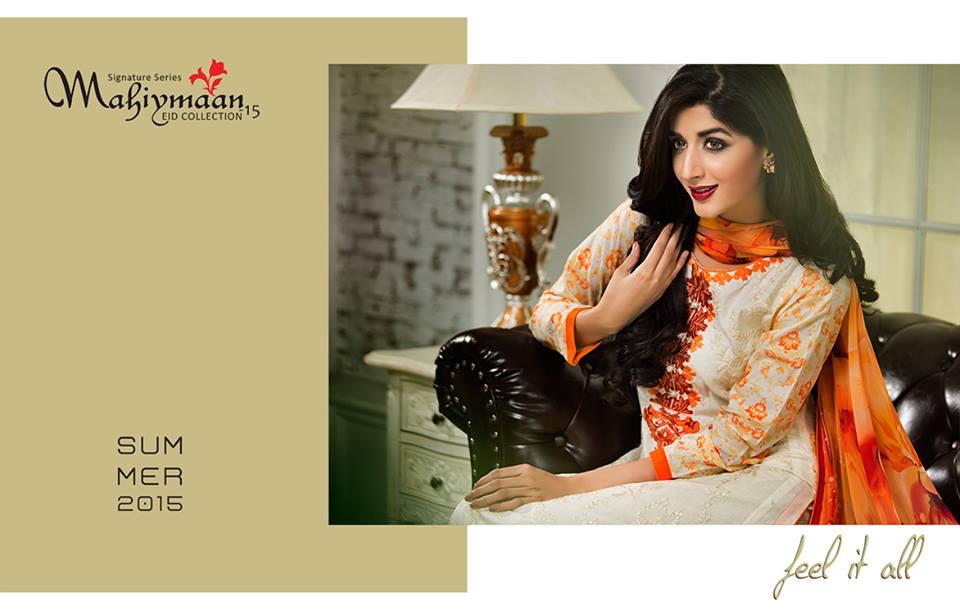 Mahiymaan By Al Zohaib Textiles 2015 – Mawra Hocane (5)