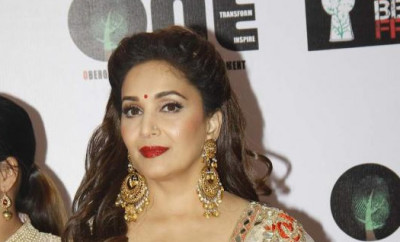 Madhuri Dixit At Vivek Oberoi's Charity Event 3