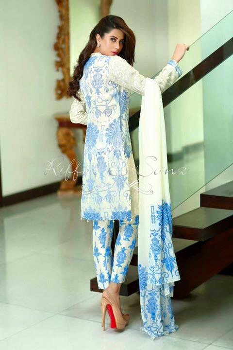 Riffat And Sana Eid Collection 2015 (1)