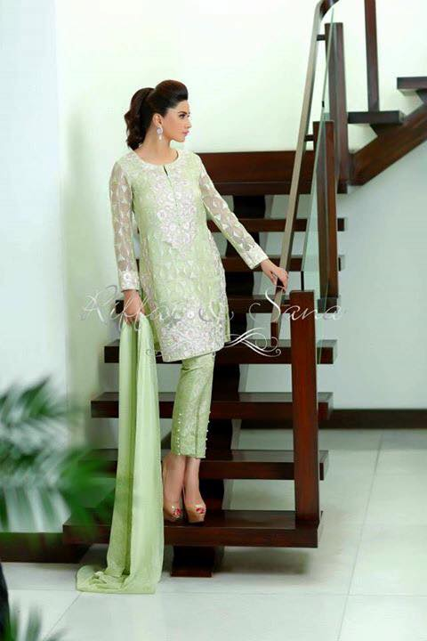 Riffat And Sana Eid Collection 2015 (2)