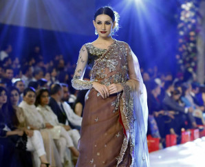 Ammara Khan At PFDC Loreal Paris Bridal Week 2015 (3)