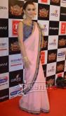 Amy Jackson In Saree at Suron k Rang 3