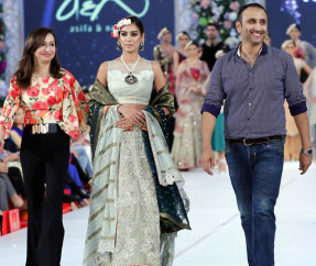 Asifa Nabeel Collection at PFDC Loreal Paris Bridal Week 2015 (15)
