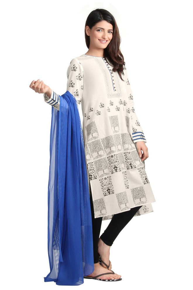 Ego Wear Pakistani Kurtas 2015 BRICKS (1)