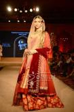 Deepika Padukone walks for Anju Modi at Blenders Pride Fashion Tour 2