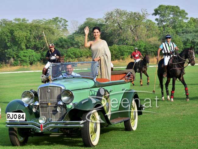 Deepika Padukone In Sabyasachi Saree Bollywood Movie
