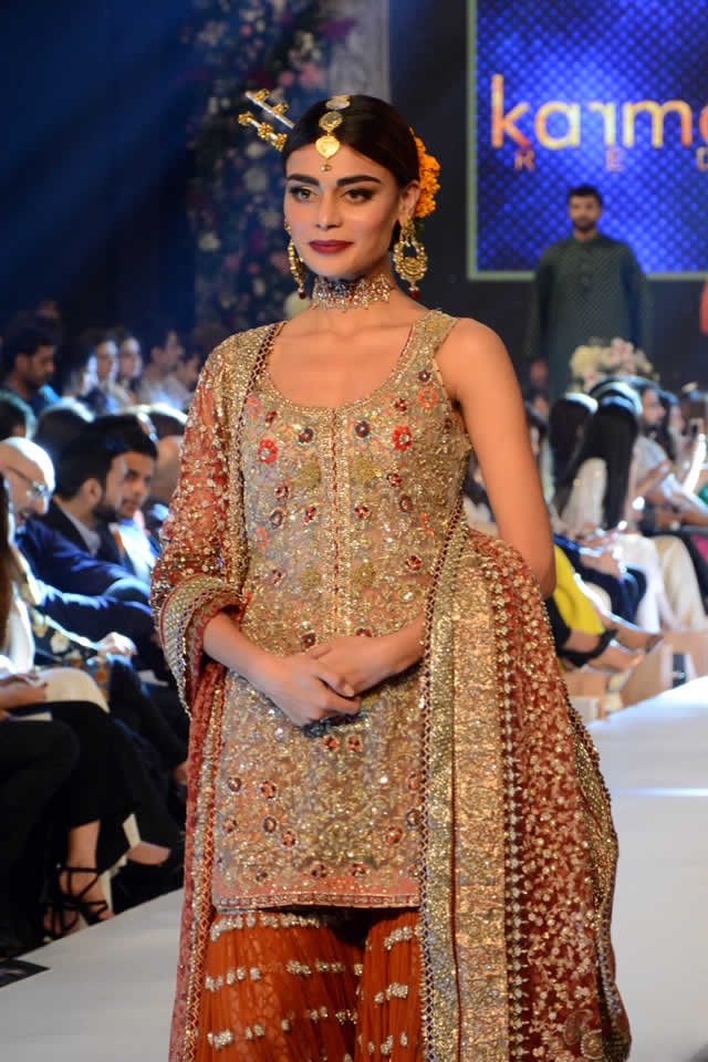 Karma Red at PFDC Loreal Paris Bridal Week 2015 (7)