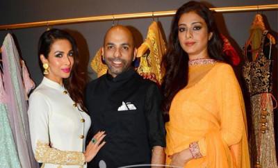 Tabu and Malaika Arora Khan Poses with Mayyur Girotra