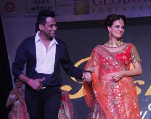 Mohit Goyal of Poshaak at Globoil Awards 2