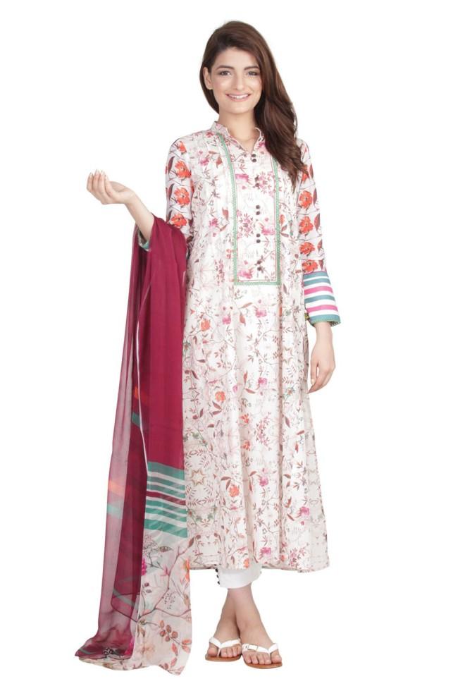 Ego Wear Pakistani Kurtas 2015 Rustle 1