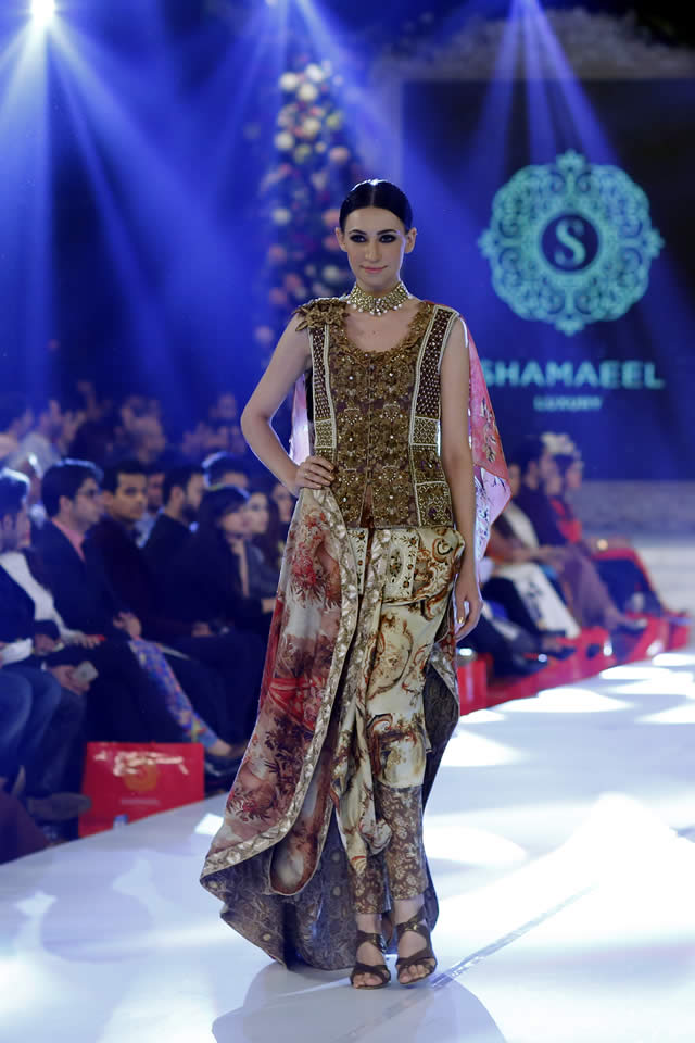 Shamaeel Ansari Absolute Orientalism Collection at PFDC Loreal Paris Bridal Week PLBW2015 (4)