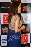 Sophie Chaudhary In Deep Blue Saree 3