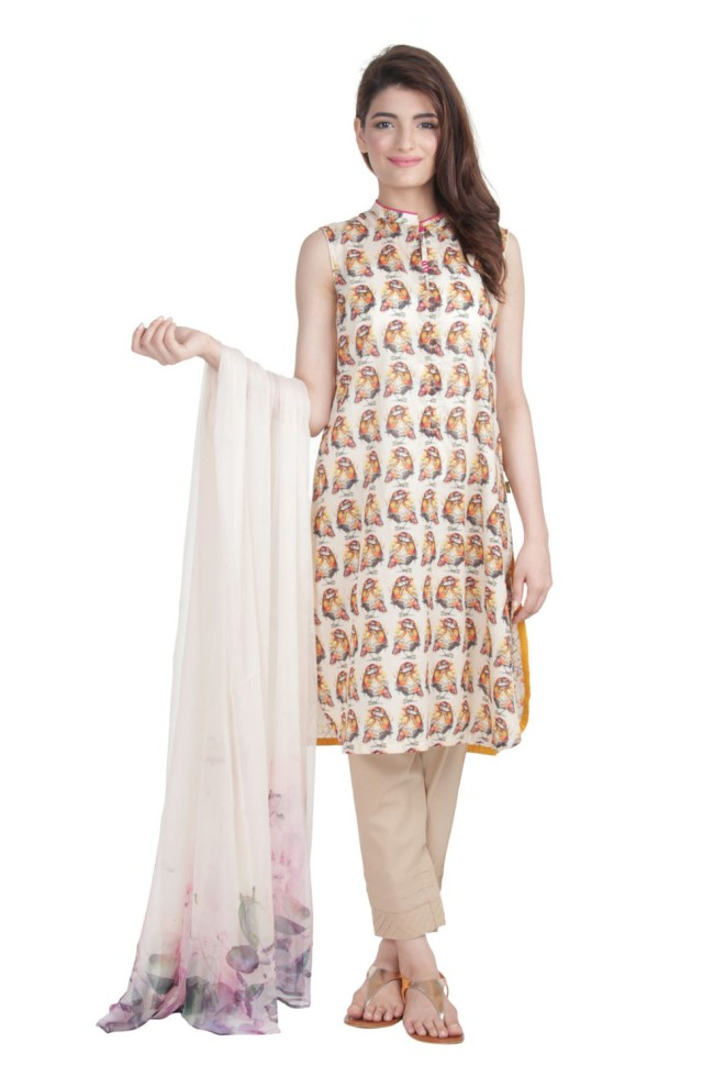 Ego Wear Pakistani Kurtas 2015 Wild Sparrow