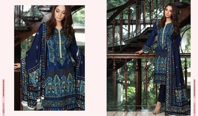 Firdous Paris Linen Winter Collection 2015 (7)