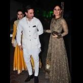 Kareena Kapoor In Sabyasachi at Shilpa Shetty Diwali Bash 2015 (7)