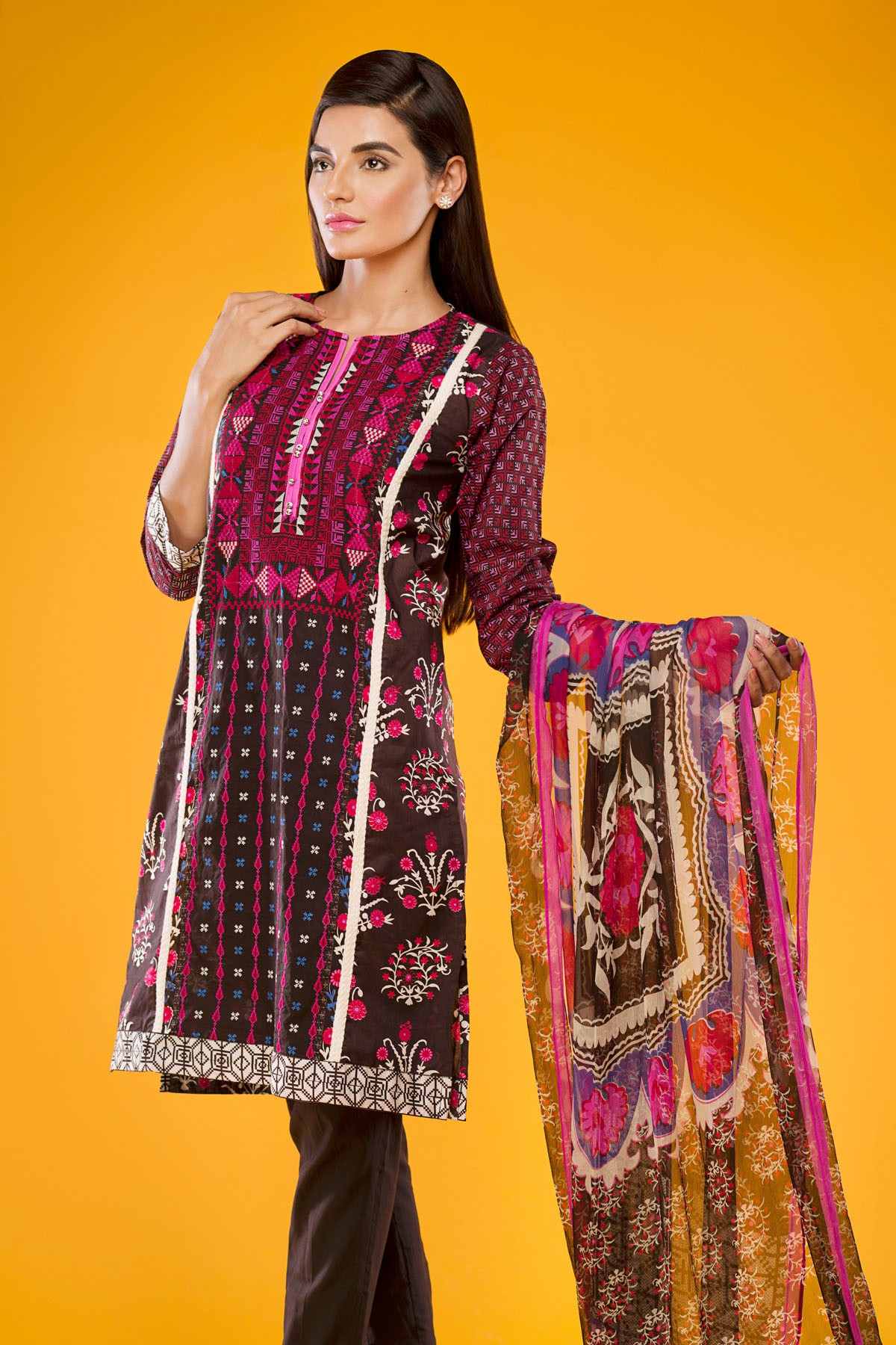 Khaadi Winter Collection 2015 4pc (1)