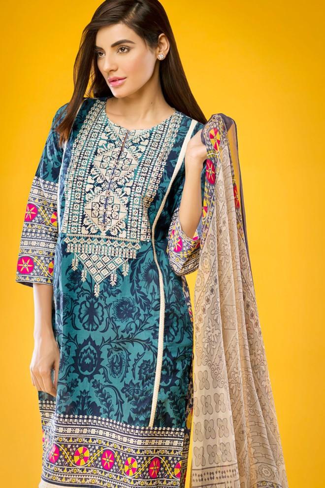 Khaadi Winter Collection 2015 4pc (12)