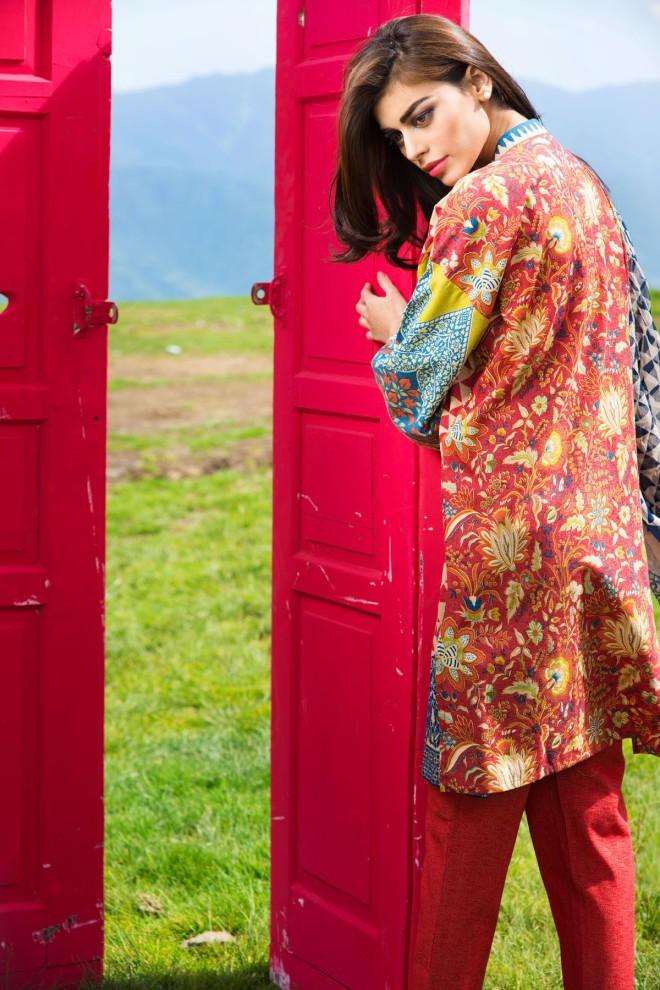 Khaadi Winter Collection 2015 4pc (15)