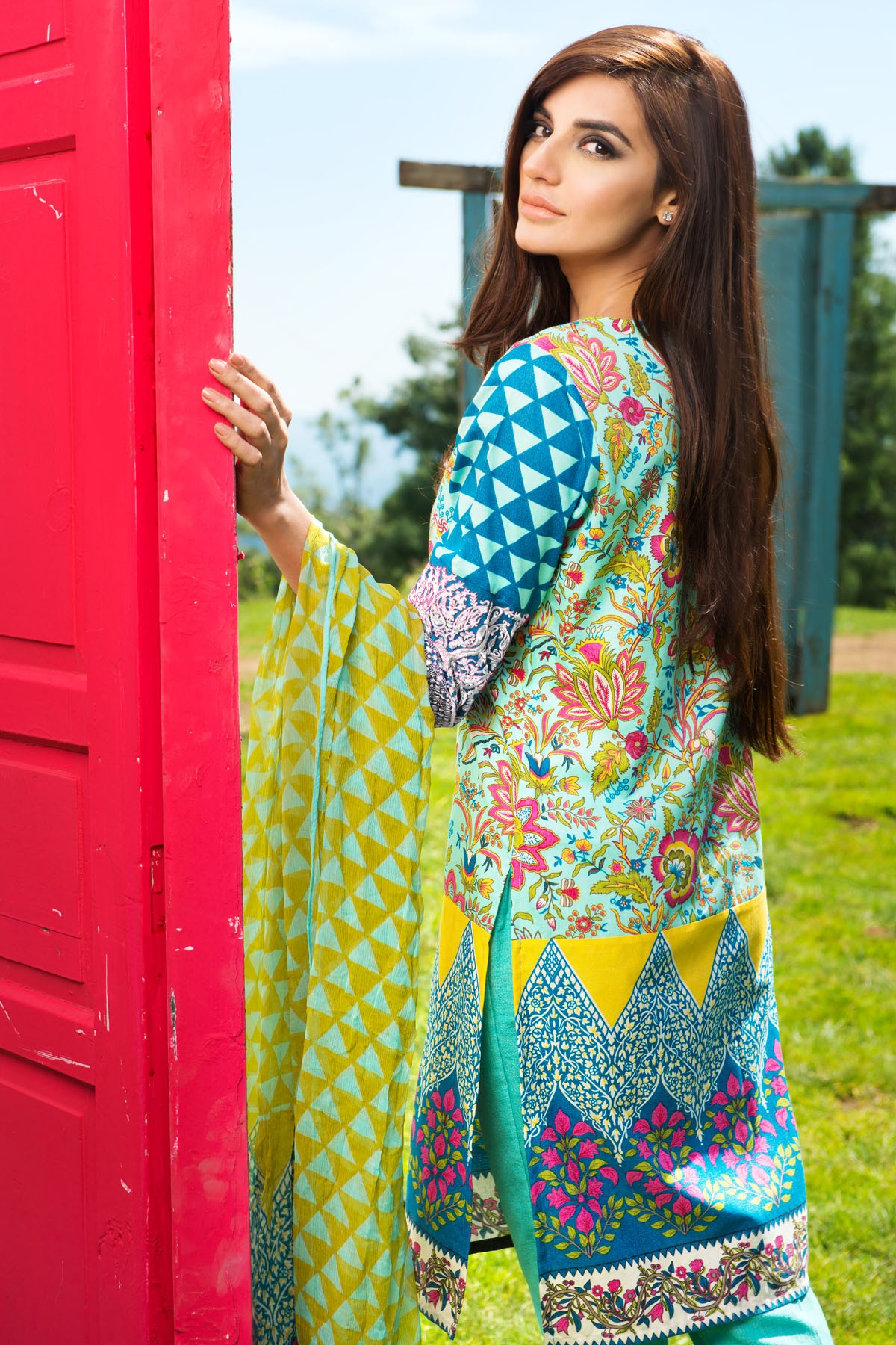 Khaadi Winter Collection 2015 4pc (1)