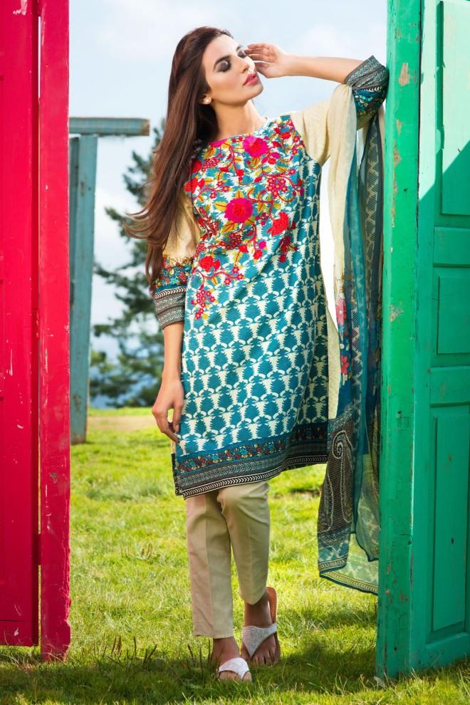 Khaadi Winter Collection 2015 4pc (18)