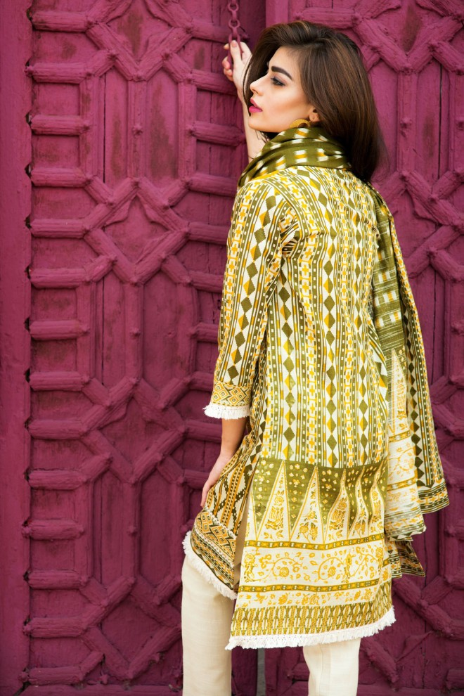 Khaadi Winter Collection 2015 4pc (2)