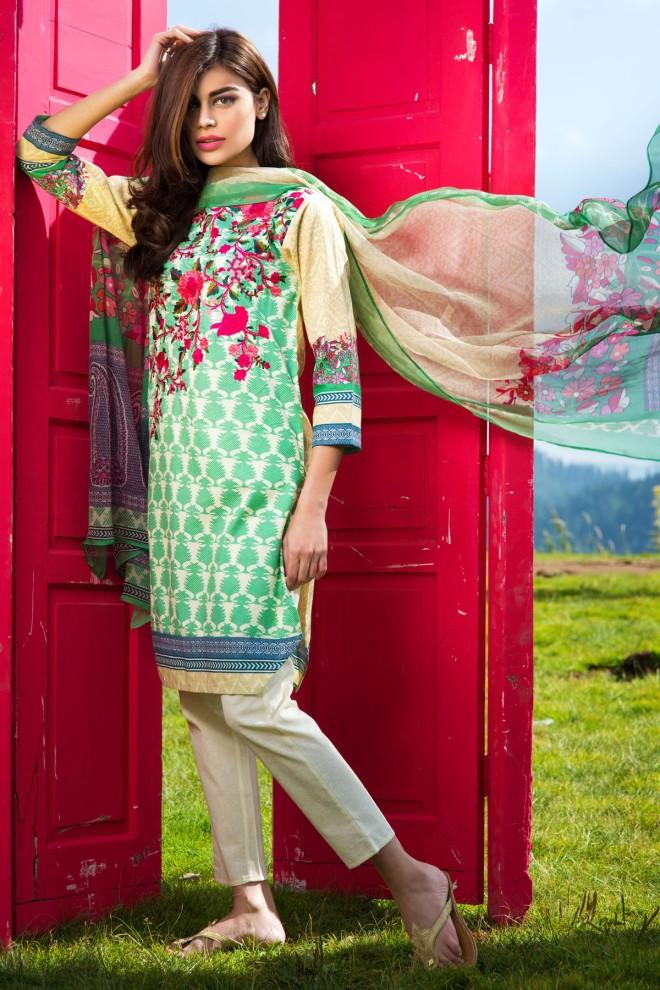 Khaadi Winter Collection 2015 4pc (20)