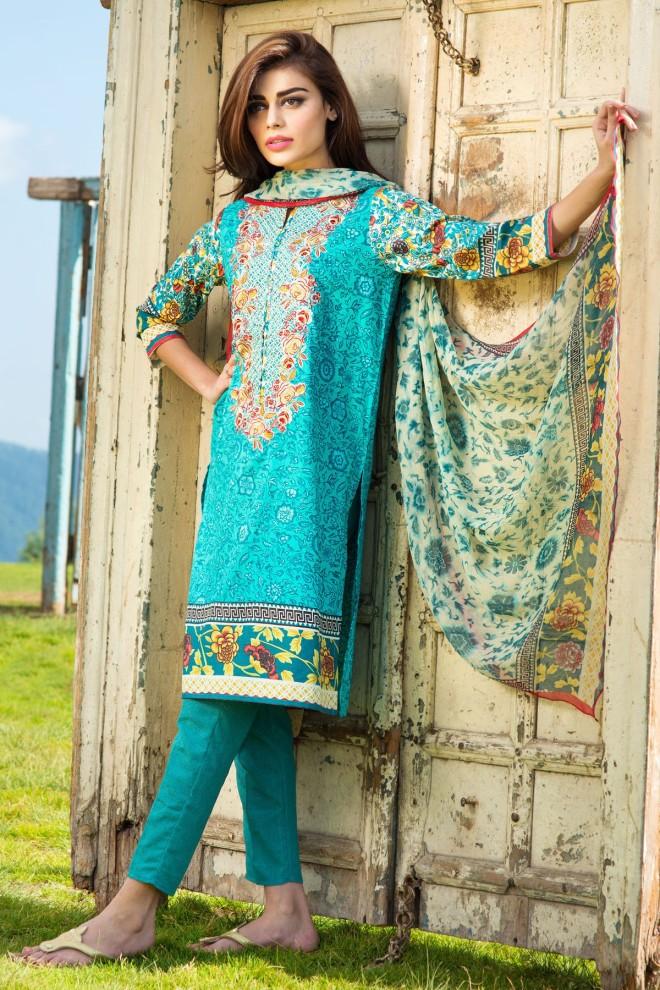 Khaadi Winter Collection 2015 4pc (26)