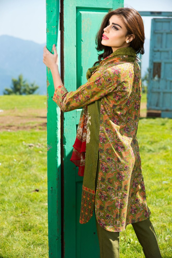 Khaadi Winter Collection 2015 4pc (29)