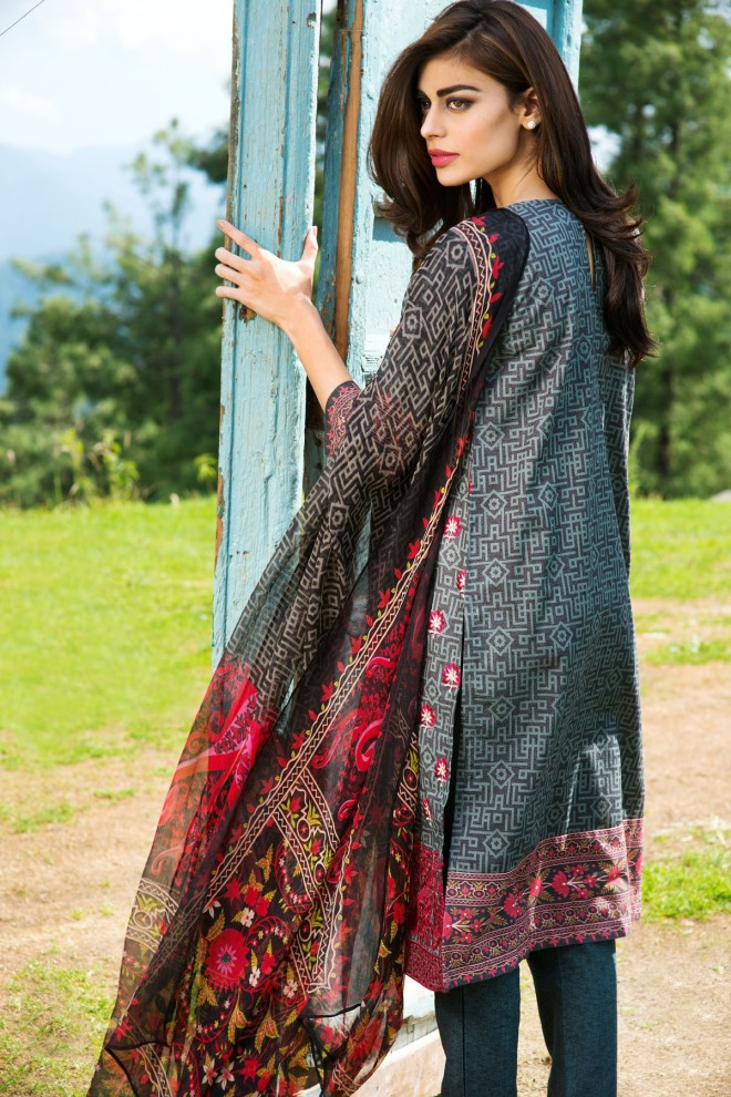Khaadi Winter Collection 2015 4pc (33)