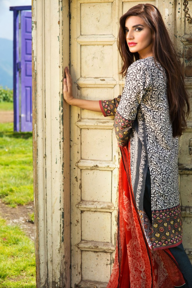 Khaadi Winter Collection 2015 4pc (37)