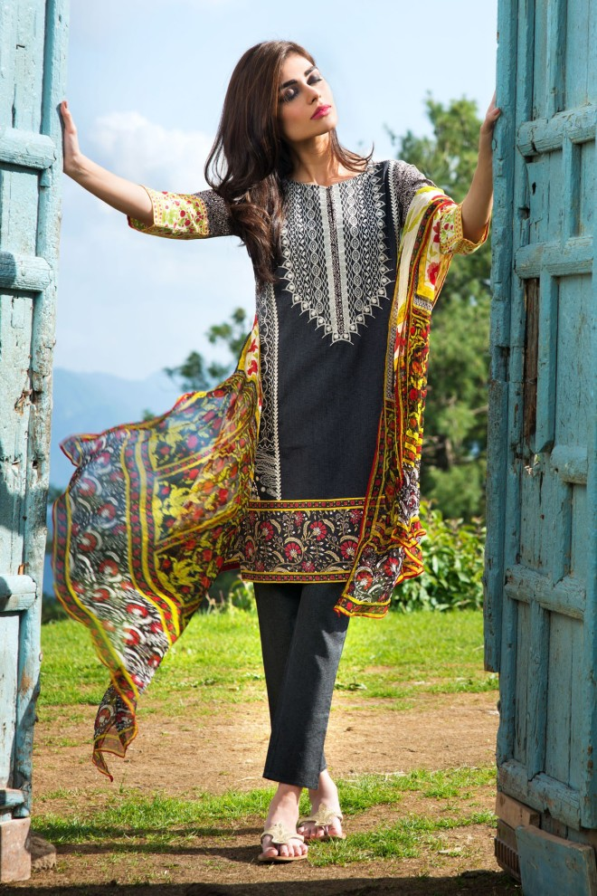 Khaadi Winter Collection 2015 4pc (42)