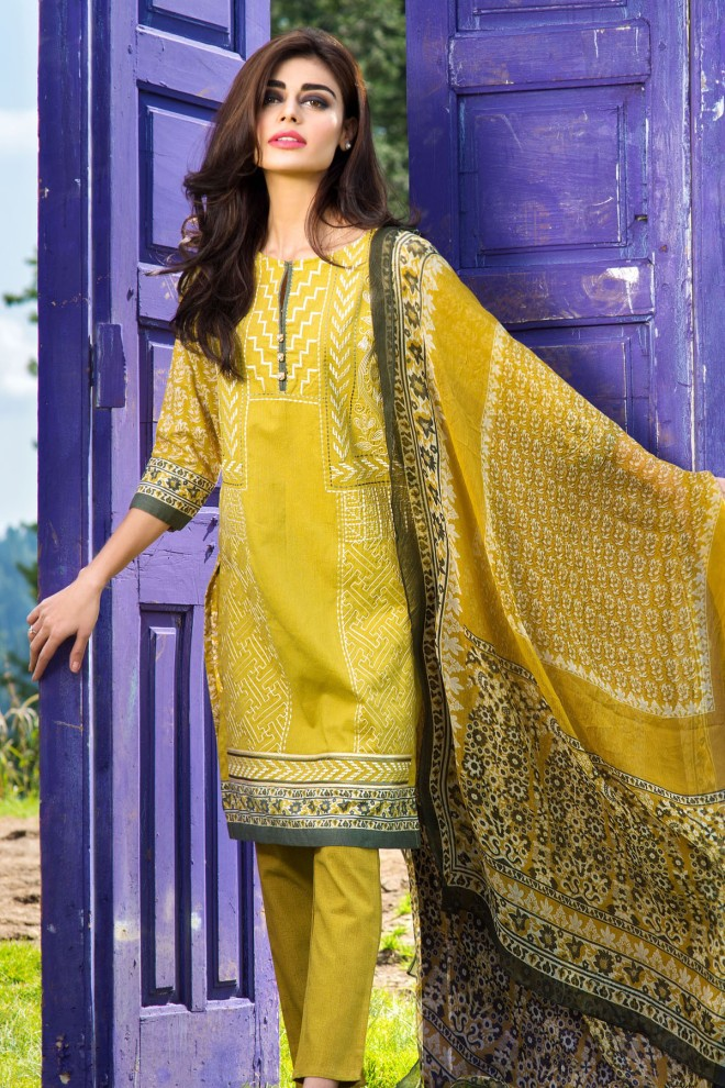 Khaadi Winter Collection 2015 4pc (46)