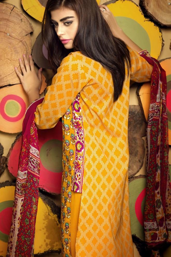 Khaadi Winter Collection 2015 4pc (7)