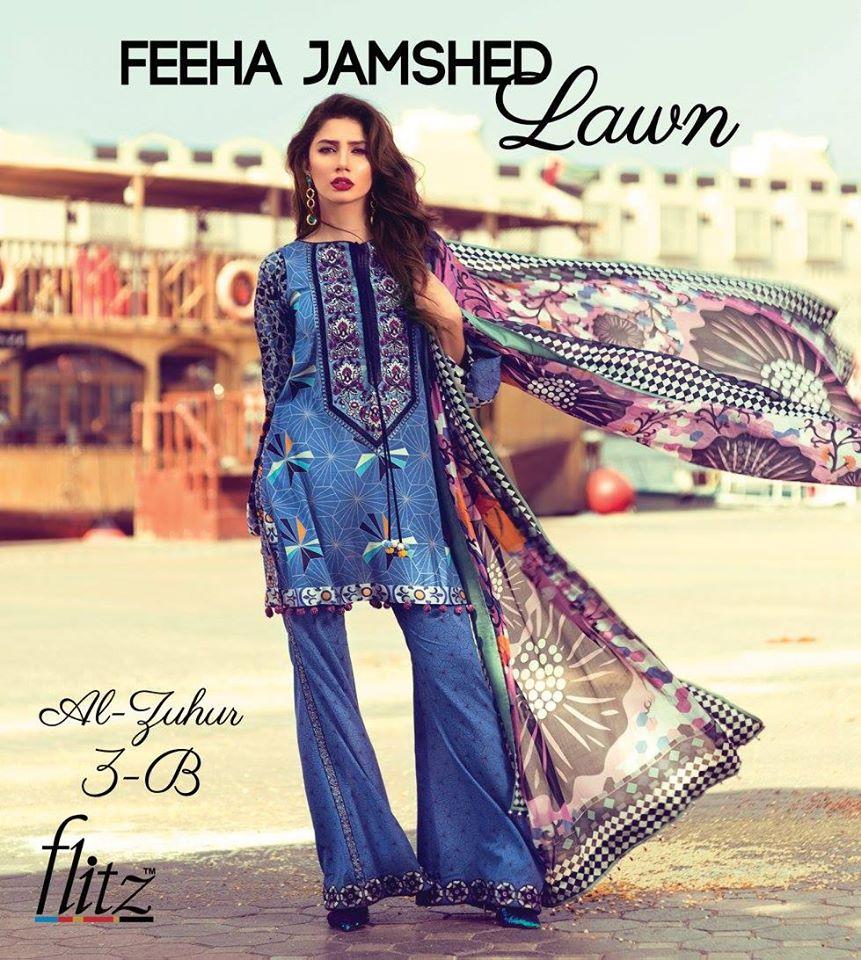 Feeha Jamshed Summer Lawn 2016 - Florence Of Arabia