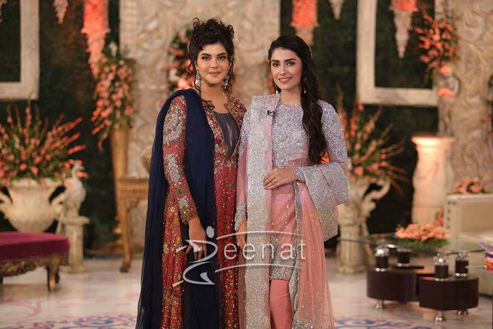 Nida Yasir Morning Show Dress Designer