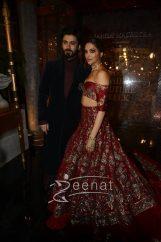 Deepika Padukone Fawad Khan For Manish Malhotra AICW2016