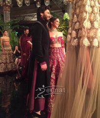 Deepika Padukone Fawad Khan Manish Malhotra AICW2016
