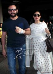 Pregnant Kareena Kapoor Sabyasachi White Dress