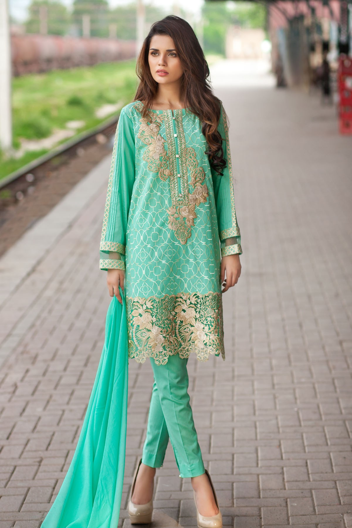 0c7e7e979d Mausummery Unstitched Summer Collection 2016 (5) | Zeenat Style