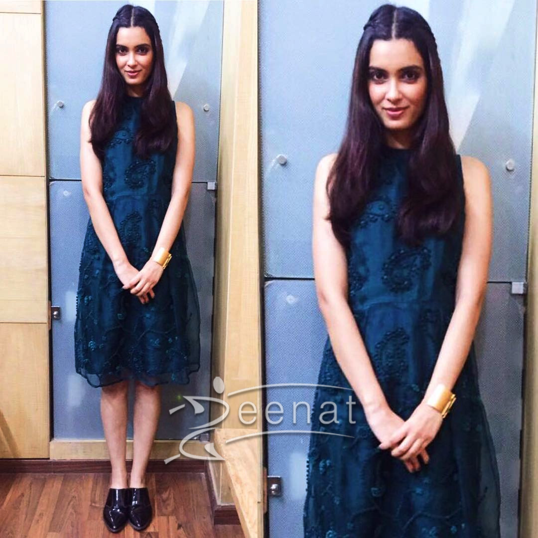 Diana Penty styled by RimZim and cuffs by Suhani Pittie.