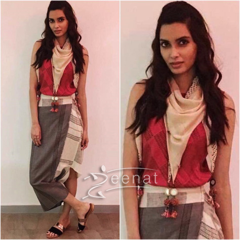 Cool styling by Urvashi Kaur and Nikasha, shoes from VAPH. Hair and makeup by Kriti Gill.