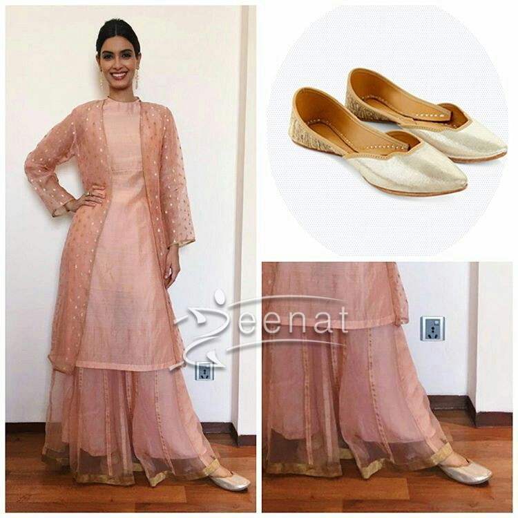 Diana in Raw Mango sheer dress, Amrapali jewels and Fizzy Goblet shoes again.
