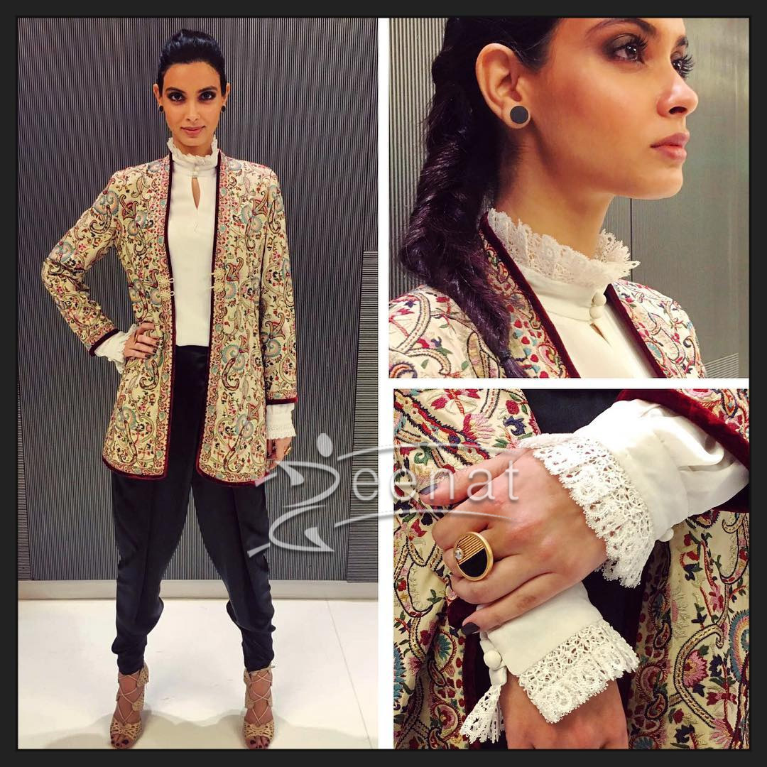 Wearing Patine Official Outfit, Koovs Fashion Shoes and Suhani Pittie earrings.