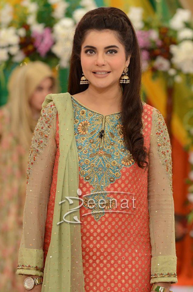 Nida Yasir Good Morning Pakistan 17 August (4)