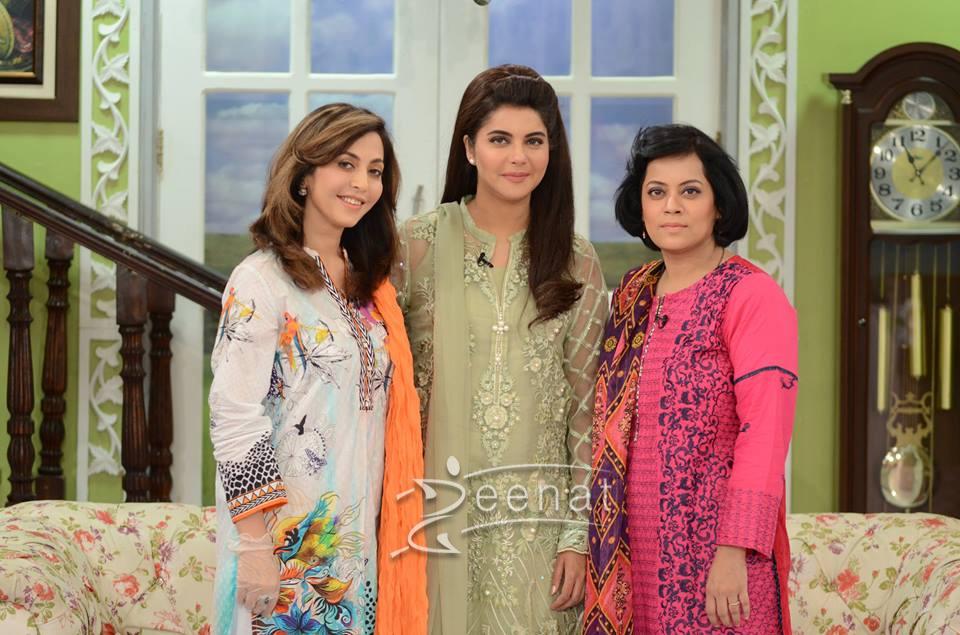 Nida Yasir In Good Morning Pakistan | 16 August