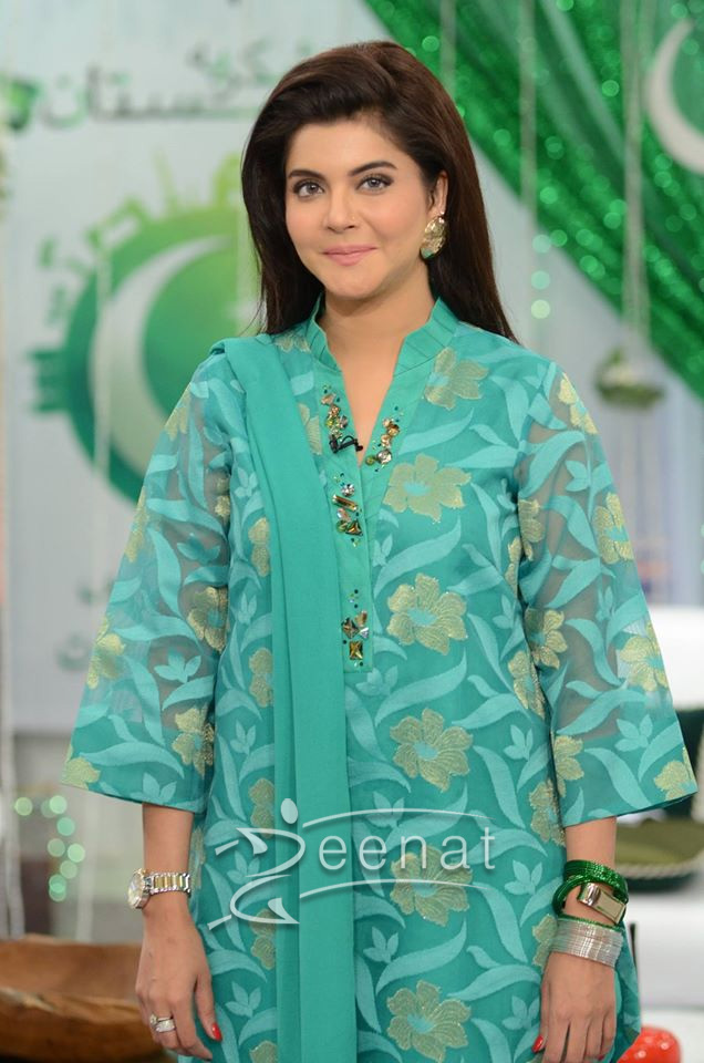 Nida Yasir in Nomi Ansari 14th August