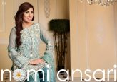 Nomi Ansari Embroidered Chiffon Collection 2016 by Shariq Textiles