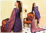 Nomi Ansari Embroidered Chiffon Collection 2016 by Shariq Textiles