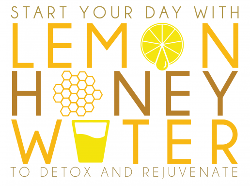 Morning DETOX with Honey and Lemon water