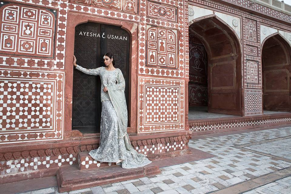 Ayesha and Usman Qamar Bridals 2016